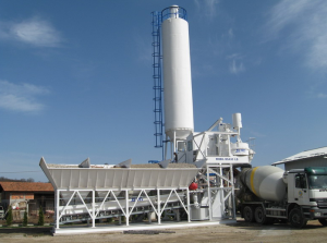 ready mix concrete batch plant layout