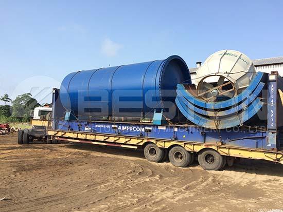 Pyrolysis Plant to Nigeria