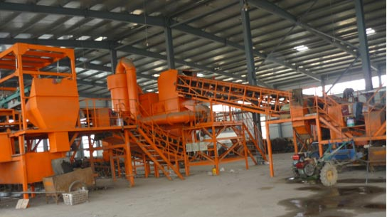 MSW sorting machine