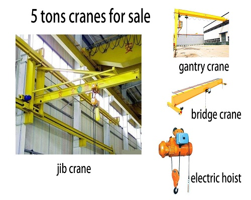 5 tons cranes for sale