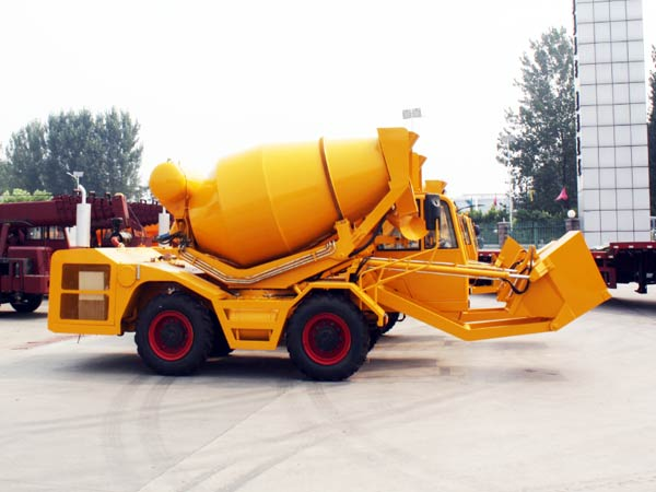 self loader mixer truck