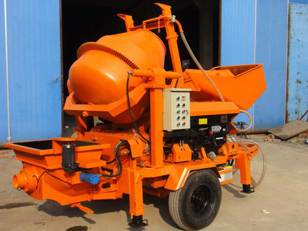 mini concrete pump