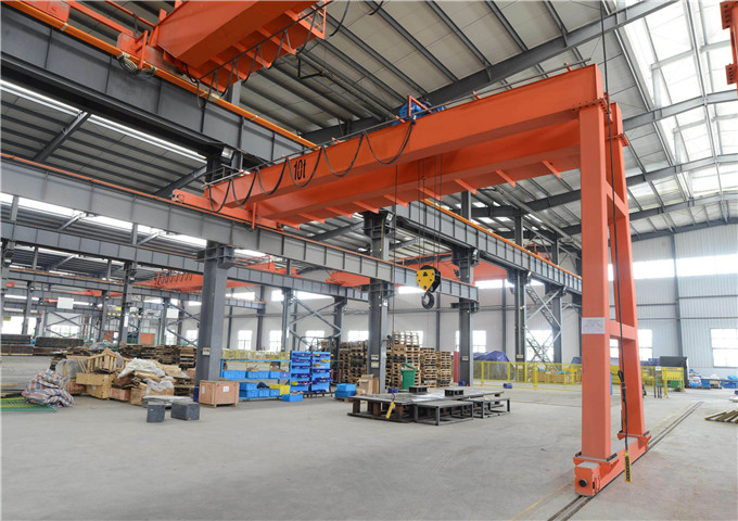 Order semi-gantry crane in China