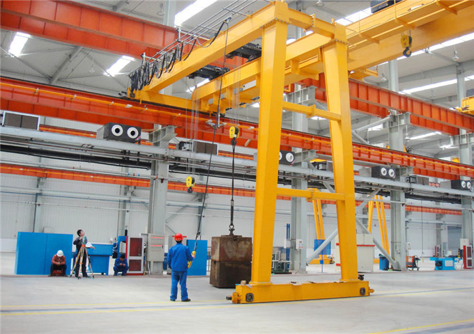 Order semi gantry crane price